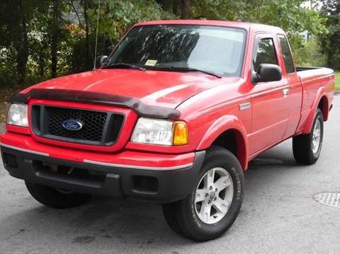 2005 Ford Ranger for sale at Liberty Motors in Chesapeake VA