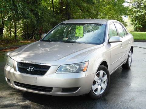2008 Hyundai Sonata for sale at Liberty Motors in Chesapeake VA