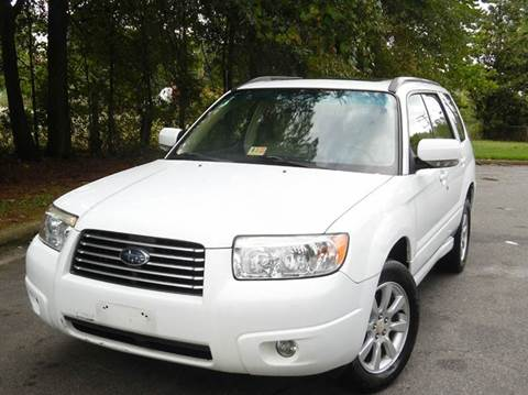 2007 Subaru Forester for sale at Liberty Motors in Chesapeake VA