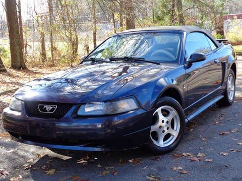 2003 Ford Mustang for sale at Liberty Motors in Chesapeake VA