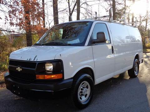 2008 Chevrolet Express Cargo for sale at Liberty Motors in Chesapeake VA