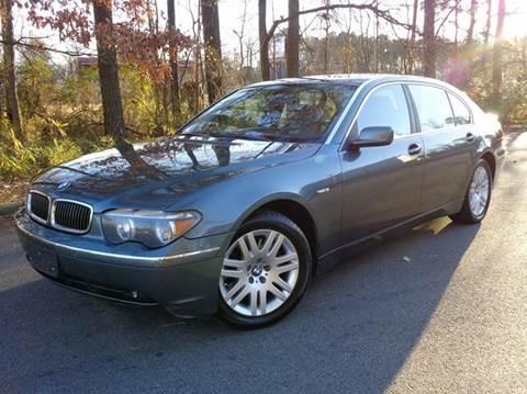 2003 BMW 7 Series for sale at Liberty Motors in Chesapeake VA