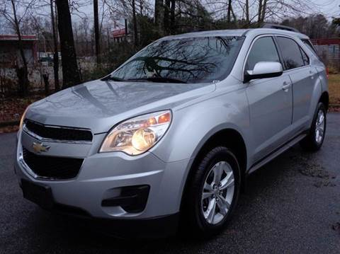 2012 Chevrolet Equinox for sale at Liberty Motors in Chesapeake VA