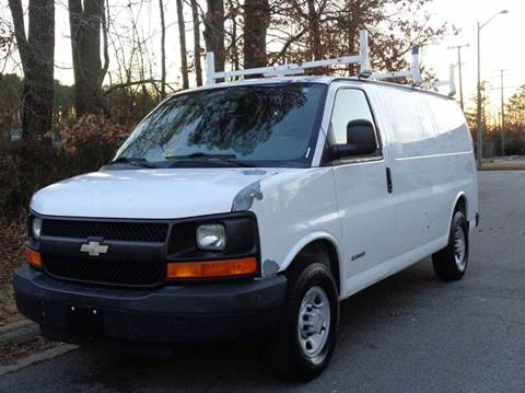 2006 Chevrolet Express Cargo for sale at Liberty Motors in Chesapeake VA