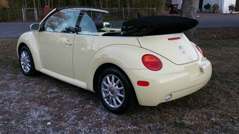 2004 Volkswagen New Beetle for sale at Liberty Motors in Chesapeake VA