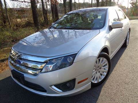 2011 Ford Fusion Hybrid for sale at Liberty Motors in Chesapeake VA