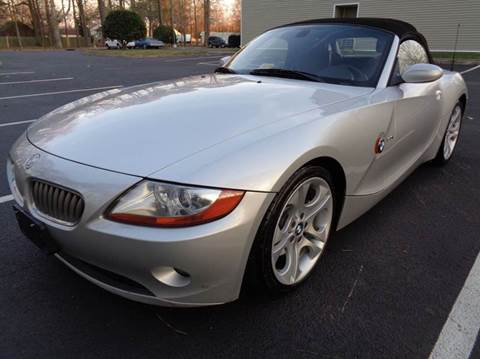 2003 BMW Z4 for sale at Liberty Motors in Chesapeake VA