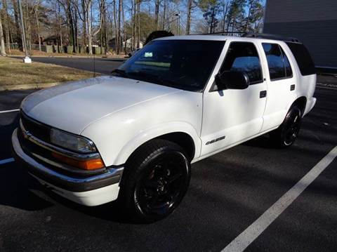 2001 Chevrolet Blazer for sale at Liberty Motors in Chesapeake VA