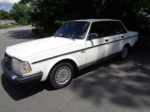 1992 Volvo 240 for sale at Liberty Motors in Chesapeake VA