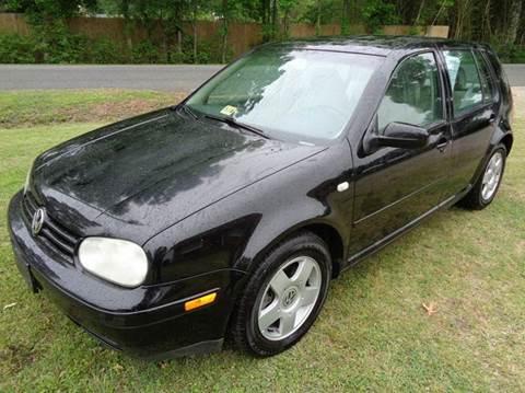 2001 Volkswagen Golf for sale at Liberty Motors in Chesapeake VA