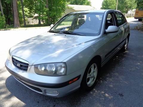 2003 Hyundai Elantra for sale at Liberty Motors in Chesapeake VA