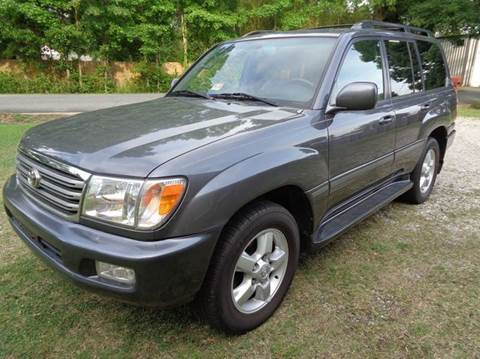 2004 Toyota Land Cruiser for sale at Liberty Motors in Chesapeake VA