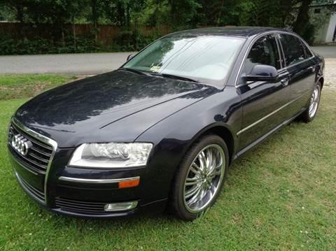 2008 Audi A8 L for sale at Liberty Motors in Chesapeake VA