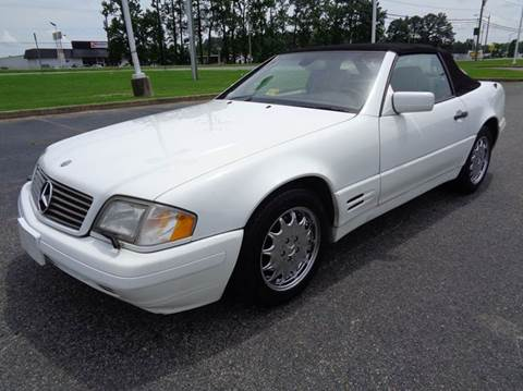 1997 Mercedes-Benz SL-Class for sale at Liberty Motors in Chesapeake VA