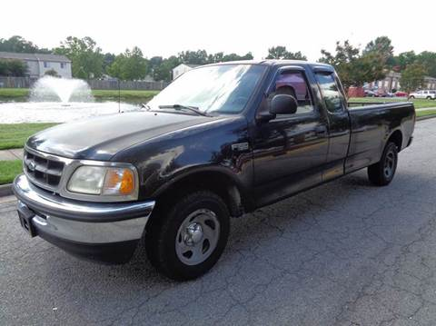 1998 Ford F-150 for sale at Liberty Motors in Chesapeake VA