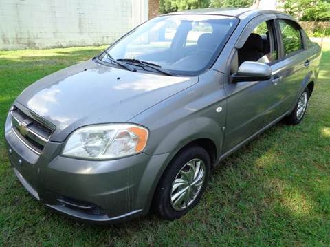 2007 Chevrolet Aveo for sale at Liberty Motors in Chesapeake VA