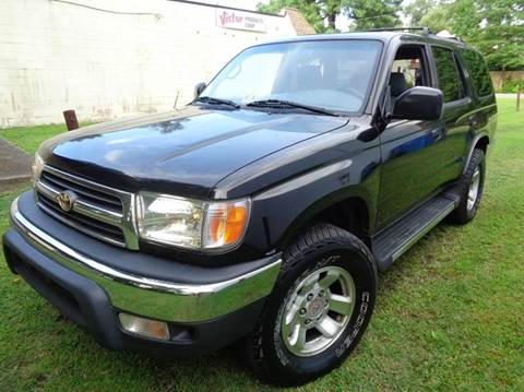 2000 Toyota 4Runner for sale at Liberty Motors in Chesapeake VA