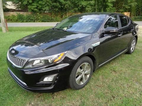 2014 Kia Optima Hybrid for sale at Liberty Motors in Chesapeake VA