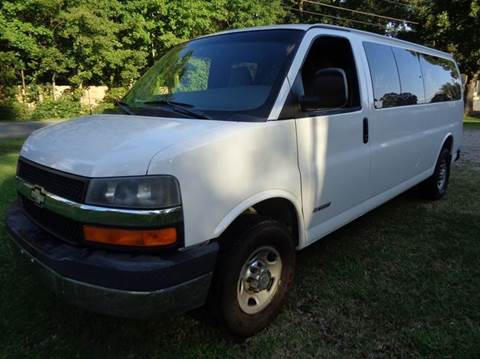 2003 Chevrolet Express Passenger for sale at Liberty Motors in Chesapeake VA
