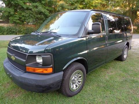 2010 Chevrolet Express Passenger for sale at Liberty Motors in Chesapeake VA
