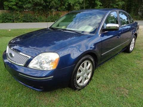 2005 Ford Five Hundred for sale at Liberty Motors in Chesapeake VA