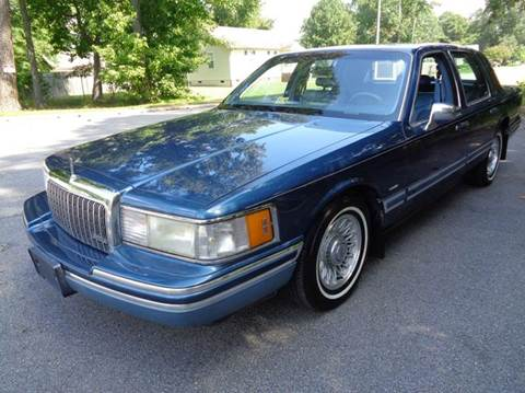1993 Lincoln Town Car for sale at Liberty Motors in Chesapeake VA