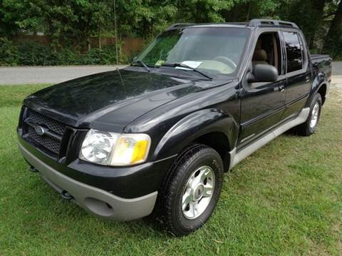 2002 Ford Explorer Sport Trac for sale at Liberty Motors in Chesapeake VA
