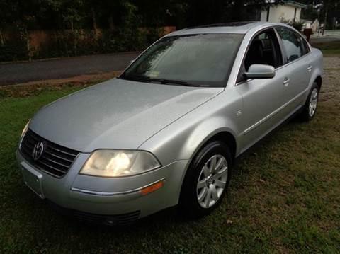 2003 Volkswagen Passat for sale at Liberty Motors in Chesapeake VA