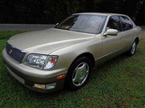 2000 Lexus LS 400 for sale at Liberty Motors in Chesapeake VA