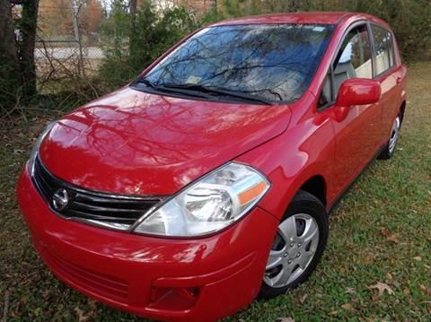 2012 Nissan Versa for sale at Liberty Motors in Chesapeake VA