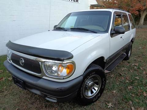 1999 Mercury Mountaineer for sale at Liberty Motors in Chesapeake VA