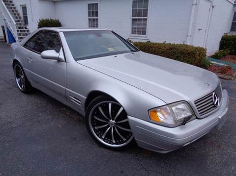 1999 Mercedes-Benz SL-Class for sale at Liberty Motors in Chesapeake VA