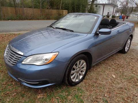 2011 Chrysler 200 Convertible for sale at Liberty Motors in Chesapeake VA
