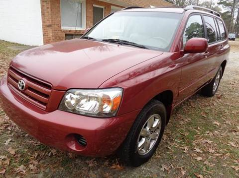 2004 Toyota Highlander for sale at Liberty Motors in Chesapeake VA