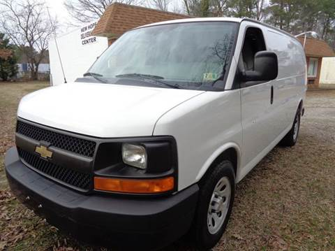2012 Chevrolet Express Cargo for sale at Liberty Motors in Chesapeake VA