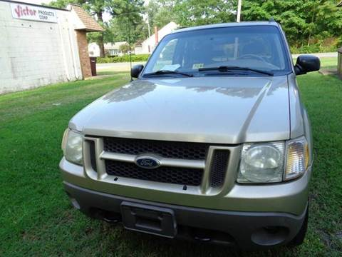 2001 Ford Explorer Sport for sale at Liberty Motors in Chesapeake VA