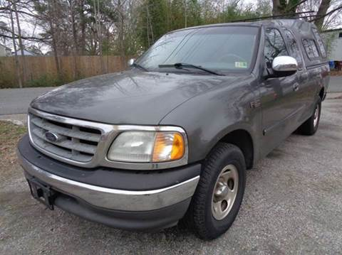 2002 Ford F-150 for sale at Liberty Motors in Chesapeake VA