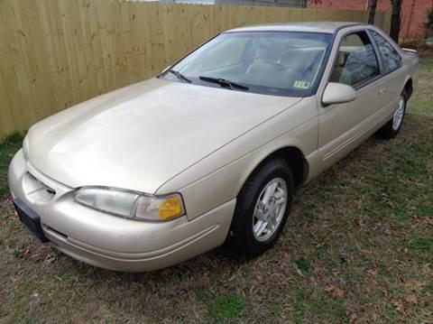 1997 Ford Thunderbird for sale at Liberty Motors in Chesapeake VA