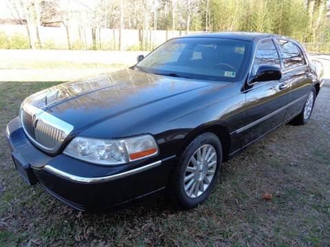 2003 Lincoln Town Car for sale at Liberty Motors in Chesapeake VA