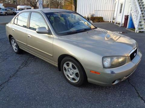 2002 Hyundai Elantra for sale at Liberty Motors in Chesapeake VA