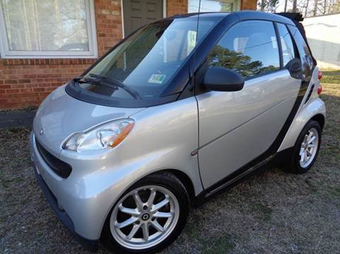 2008 Smart fortwo for sale at Liberty Motors in Chesapeake VA