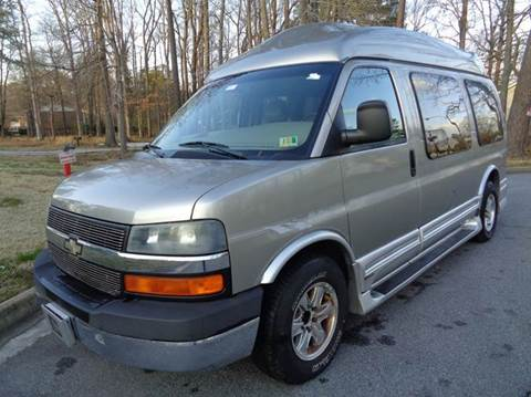 2003 Chevrolet Express Cargo for sale at Liberty Motors in Chesapeake VA