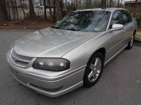 2005 Chevrolet Impala for sale at Liberty Motors in Chesapeake VA
