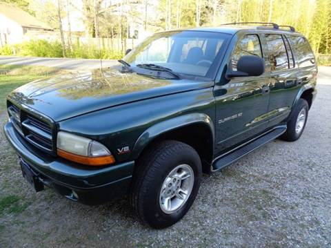 2000 Dodge Durango for sale at Liberty Motors in Chesapeake VA