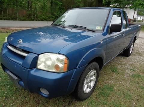 2002 Nissan Frontier for sale at Liberty Motors in Chesapeake VA