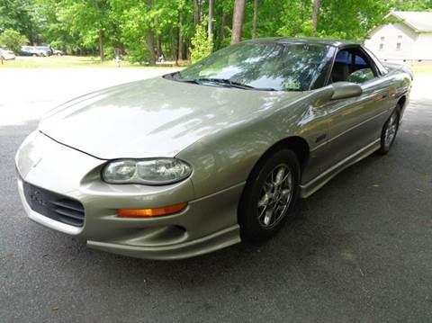 2001 Chevrolet Camaro for sale at Liberty Motors in Chesapeake VA