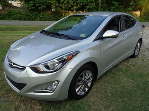 2016 Hyundai Elantra for sale at Liberty Motors in Chesapeake VA