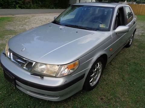 2000 Saab 9-5 for sale at Liberty Motors in Chesapeake VA