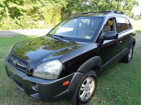 2006 Hyundai Tucson for sale at Liberty Motors in Chesapeake VA