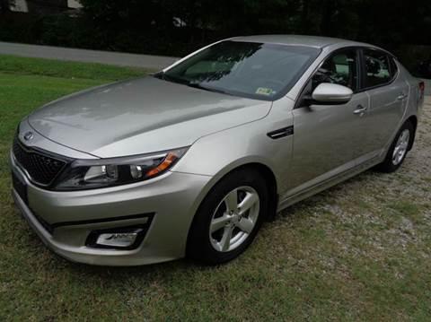 2014 Kia Optima for sale at Liberty Motors in Chesapeake VA